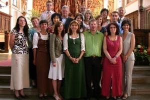 Pfarrgemeinderat 2007 - 2012, Foto: Manfred Danner